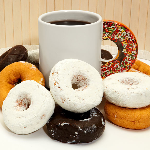 Free Williamsburg Roasted Coffee  - Daily  - Free Donuts & Fruit Weekends April 4 - November 8 - Friday - Saturday